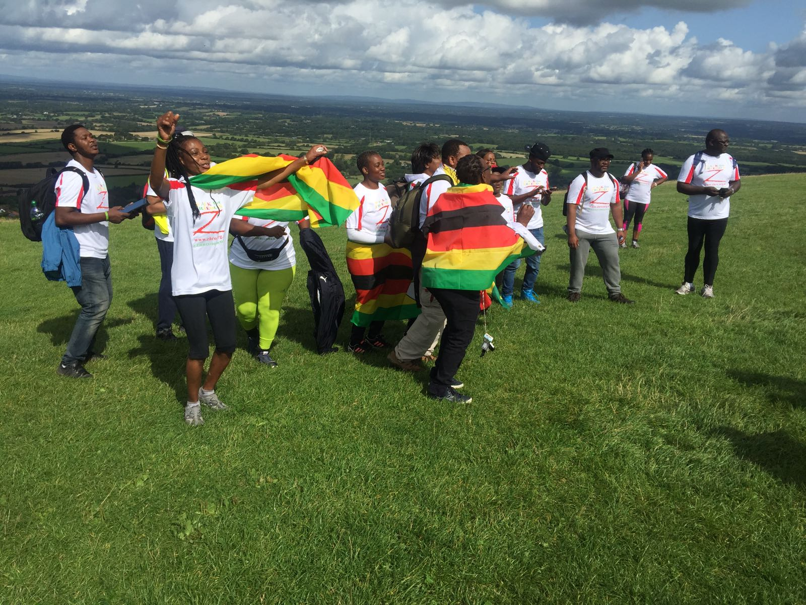 105km Walk for Freedom Devil's Dyke